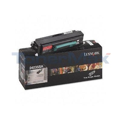 LEXMARK E230 PRINT CARTRIDGE BLACK